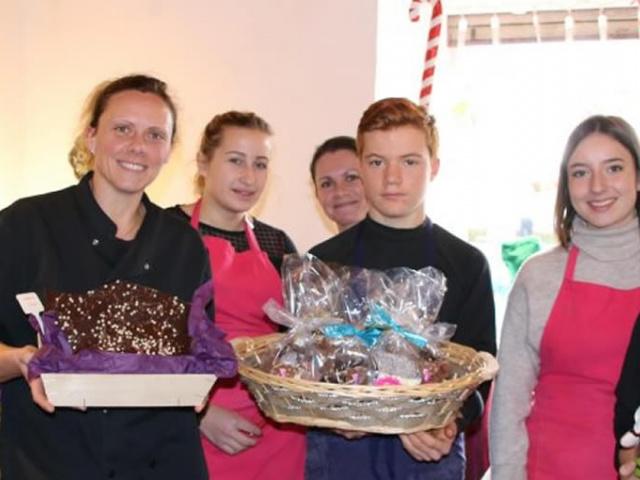 A quelques jours de Pâques une chocolatière artisanale inquiète