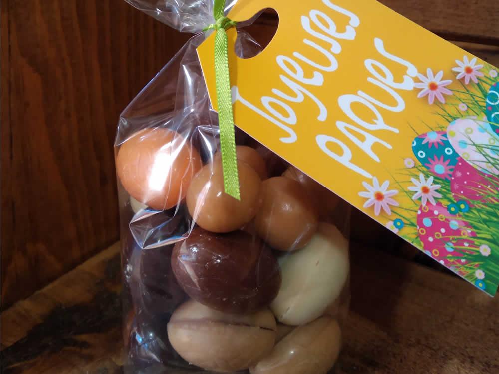 Sachet d'œufs nus