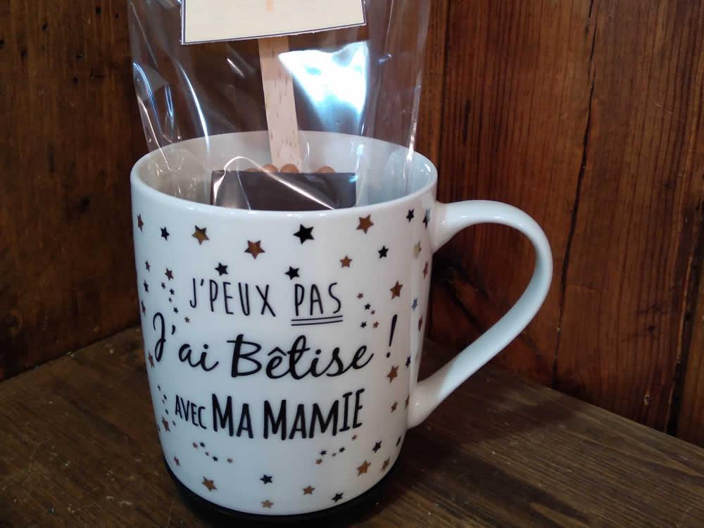 Idée cadeau pour Mamie